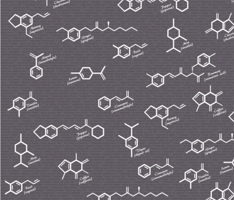 The Hexagon: Nature's Shape fabric by modernfox on Spoonflower - custom fabric
