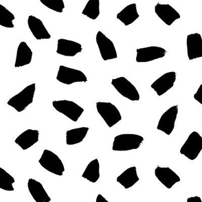 Spotted Scats (Black and White)