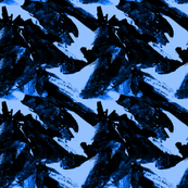 Pine Trees Blue