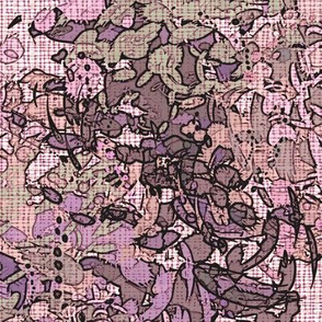 Pink English Garden II