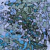 Blue English Garden II