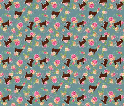 Tumblling Herefords fabric by thecraftyblackbird on Spoonflower - custom fabric