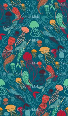 Mermaids and Jellyfish - Aurelia