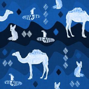 SAHARA (Tuareg Blue)