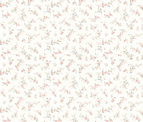 pastelfloral fabric by sarah2990 on Spoonflower - custom fabric