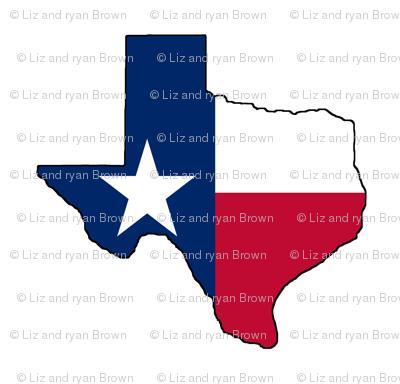 Texas Flag Overlay