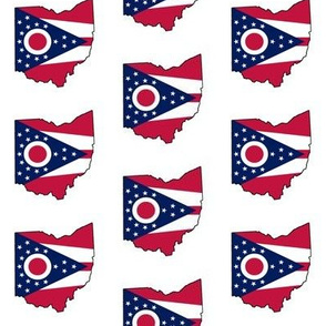 Ohio Flag Overlay