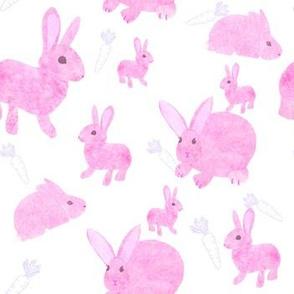 Pink Baby Bunnies