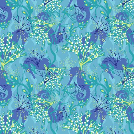 ocean rider fabric by lynnbishopdesign on Spoonflower - custom fabric