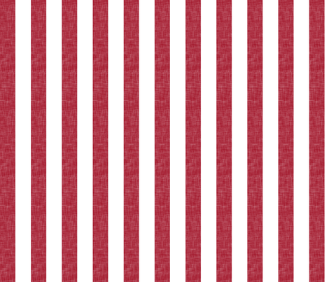 red linen stripe (90) || the lumberjack collection fabric by littlearrowdesign on Spoonflower - custom fabric