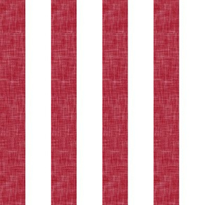 red linen stripe (90) || the lumberjack collection