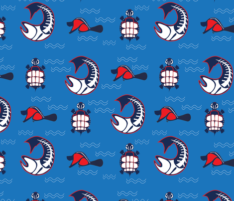 River_Streams fabric by sherrys on Spoonflower - custom fabric