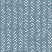 Hand Painted Chevron and Dots