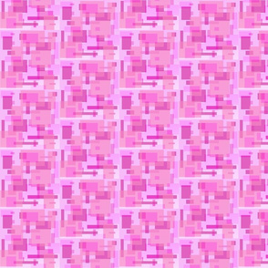mod pink rectangles