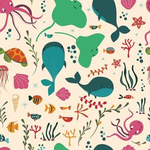 Sea creatures 002