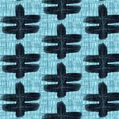 Blue Oslo Geometric