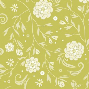 sunny floral pattern
