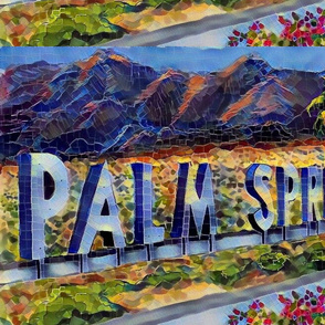 Palm Springs Mosaic