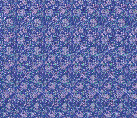 Makes Scents: Indigo fabric by brooke_elayyne on Spoonflower - custom fabric