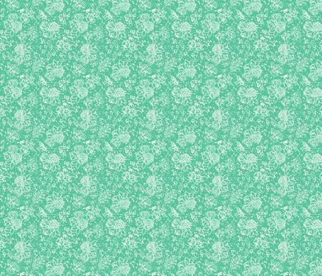 MakesScents: Turquoise fabric by brooke_elayyne on Spoonflower - custom fabric