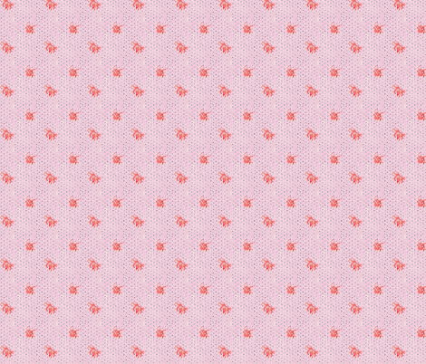 Pollinate: Strawberry fabric by brooke_elayyne on Spoonflower - custom fabric