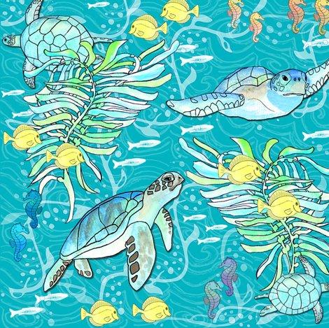 Rrrraquatic_sea_creatures_best_flattened_crop_8x8size_13feb2017_shop_preview