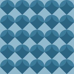 Modern Ocean: Shells (Blue)