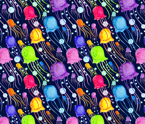 Jelly Jams fabric by lilredbug on Spoonflower - custom fabric
