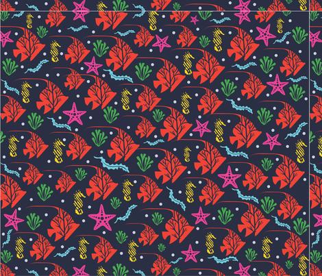 Sea_horses___Friends fabric by creative_pine on Spoonflower - custom fabric