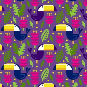 Tropical Toucans (Pink)