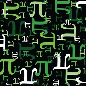 Pieces of Pi (Green)