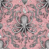 Octopus Damask - Pink