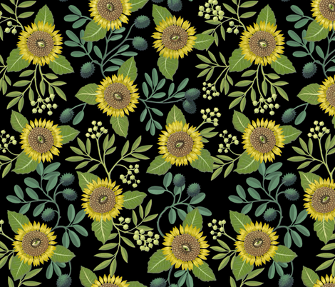 Mutant in the Night Garden fabric by maritcooper on Spoonflower - custom fabric