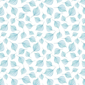 Swirling Leaves | Teal