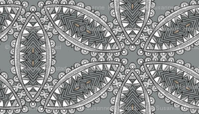 Voodoo Flower grey