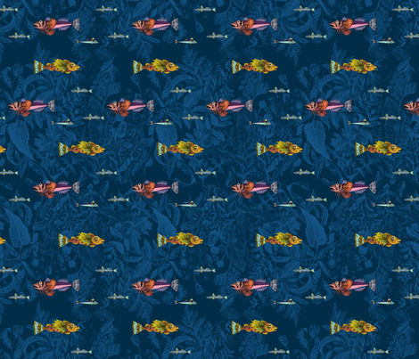 Esprit_Mer fabric by huard_delphine on Spoonflower - custom fabric