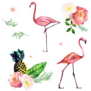 """21"""" Flamingo Floral Park"""