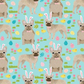 French Bulldog fawn coat Easter fabriceaster