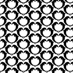 dolphin hearts