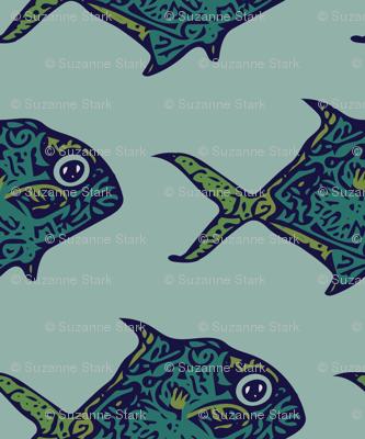 spirit_fish_blue_green_pattern