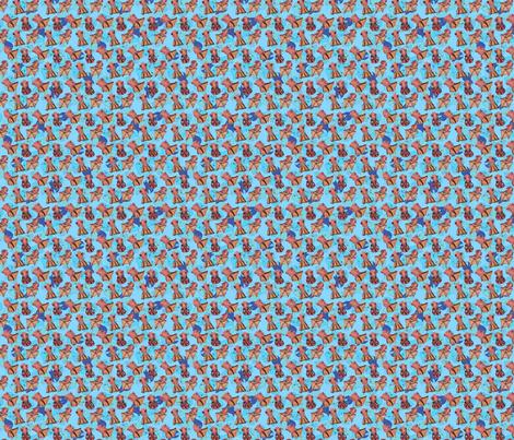 Squid Squad fabric by mrissa on Spoonflower - custom fabric