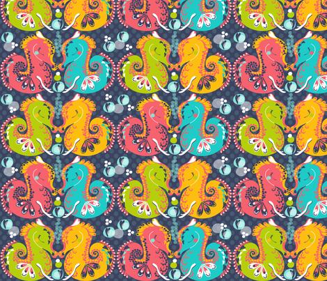 Bubble Babies fabric by paula's_designs on Spoonflower - custom fabric