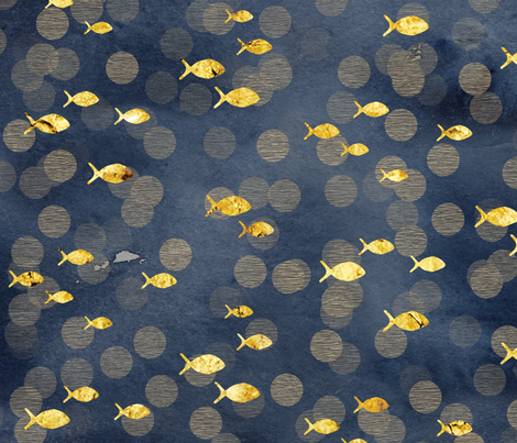 OceanBokeh fabric by adenaj on Spoonflower - custom fabric