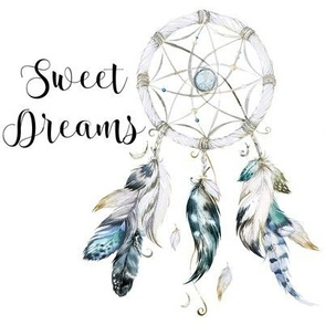 "8"" Little Chief Dream Catcher with Quote"