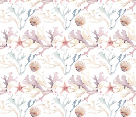 Tropical Reef fabric by hipkiddesigns on Spoonflower - custom fabric