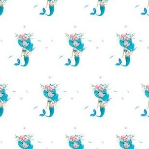 "2"" Blue Mermaid / Mix & Match"
