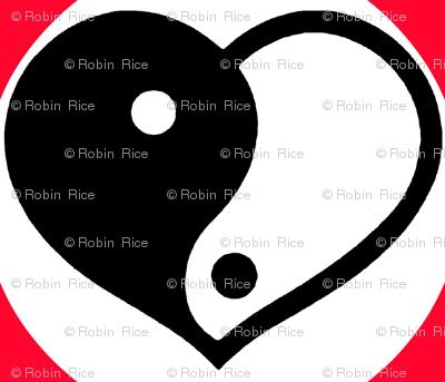 Yin-Yang Heart of Hearts