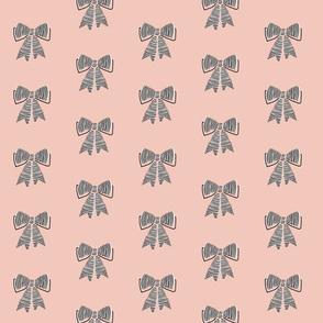 schoolgirl bows // pantone 53-1
