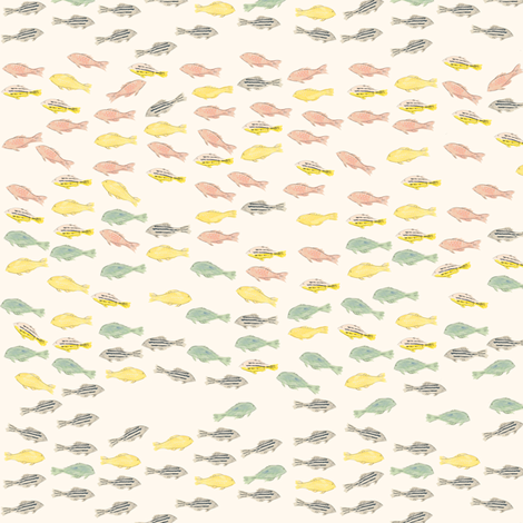Ocean Jewels -mini - fabric by frumafar on Spoonflower - custom fabric