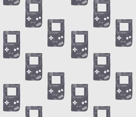 Gameboy fabric by biancagreen on Spoonflower - custom fabric
